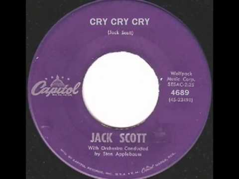 Jack Scott - Cry, Cry, Cry (stereo)