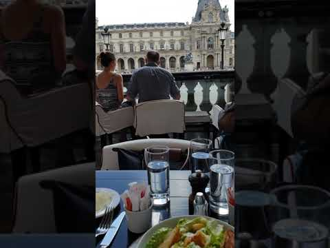 Best Steak In Paris- The Louvre Museum Restaurant