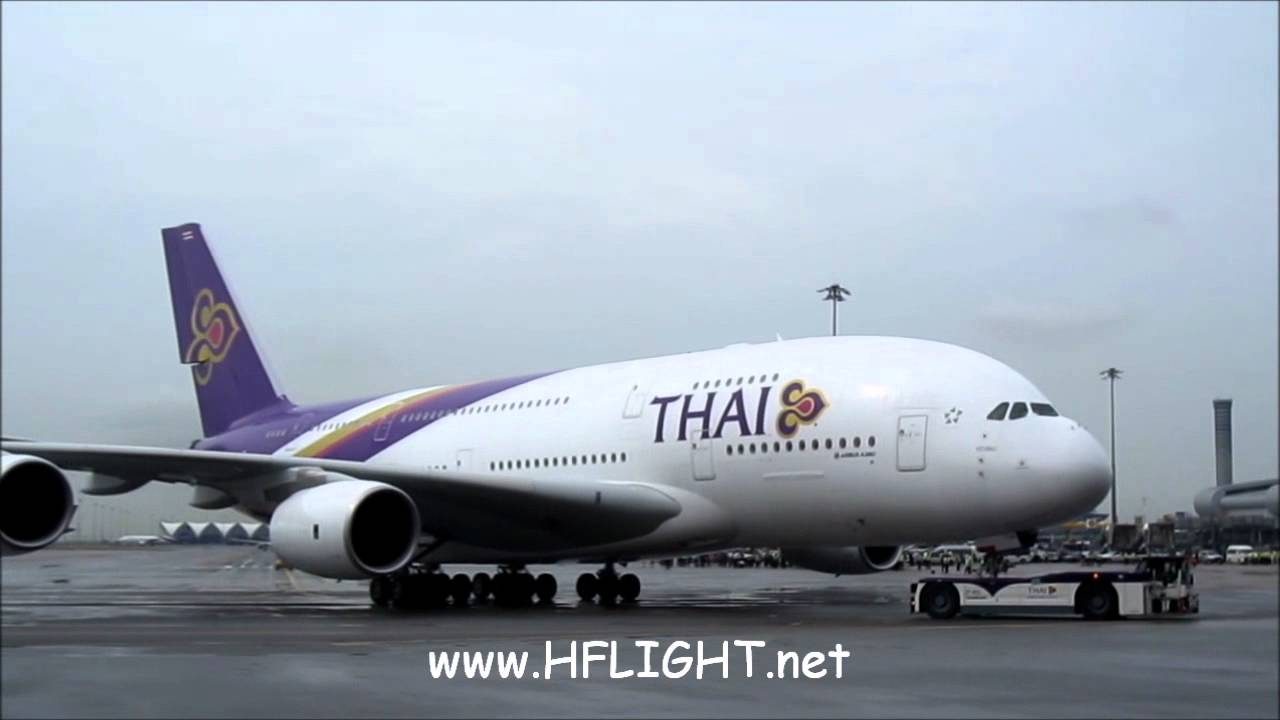 A380 Wallpaper Hd Thai Airways International First Airbus A380 Delivery