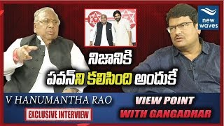 Congress Leader V Hanumantha Rao Exclusive Interview | View Point With Gangadhar | New Waves