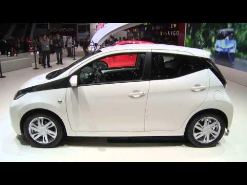 2014 Toyota Aygo world debut live in Geneva