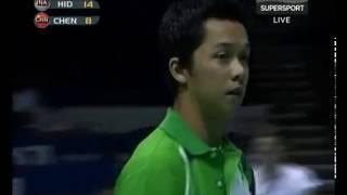 Download Video 2006 World Championships - MS R16 - Chen Hong vs Taufik Hidayat MP3 3GP MP4