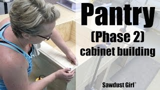 Pantry (part 6) - Building Cabinets