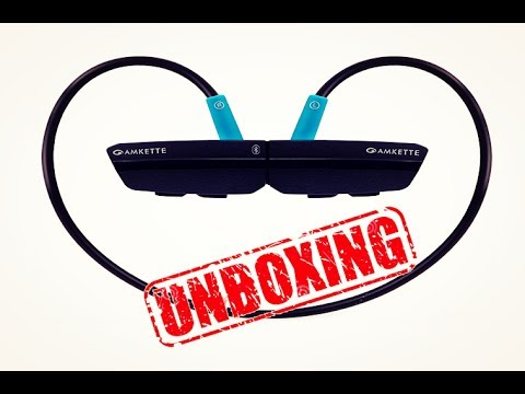 Unboxing of Amkette Bluetooth Headset