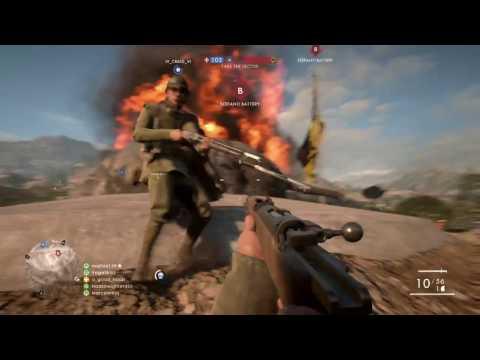 Battlefield 1 Push for the adriatic coast