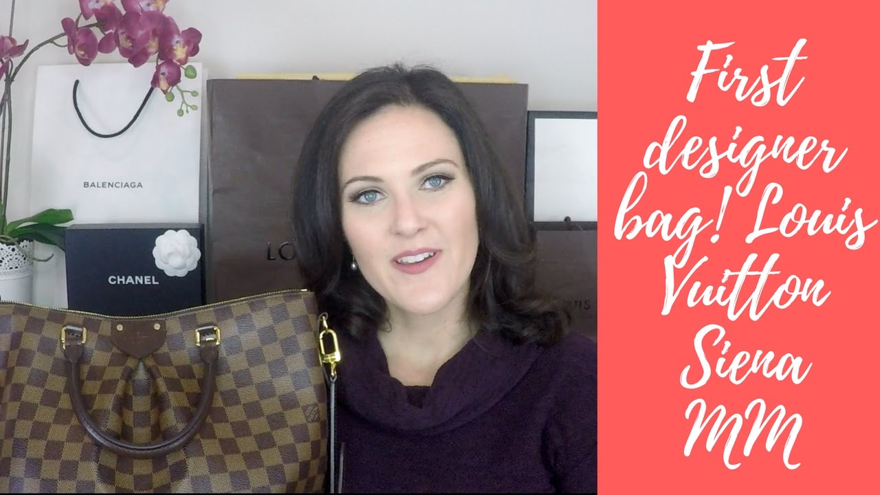 79fe648f50 Louis Vuitton Siena MM Review & My First Designer Bag Purchase | Retail  Therapy Chick