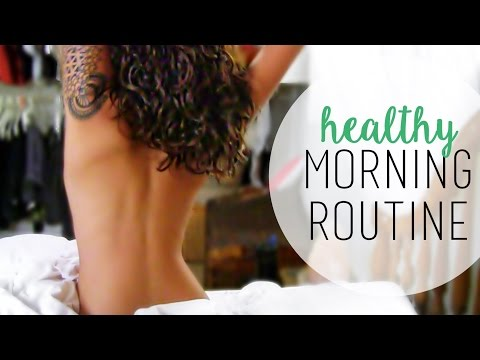 My Morning Routine | Yoga, Vegan Breakfast, Makeup
