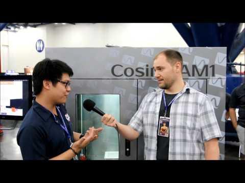 3rd Coast Nerds at Comicpalooza 2017: Cosine Additive 3D Printing