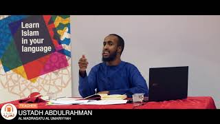 MUST SEE    The Concept of Time in Islam    Ustadh Abdulrahman Hassan