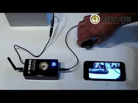 Fish EyE Camera Kits WiFi Underwater Kit Demo Video Carp Fishing