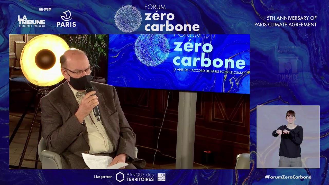 Forum Zéro Carbone: Table-ronde La Tribune x Mairie de Paris