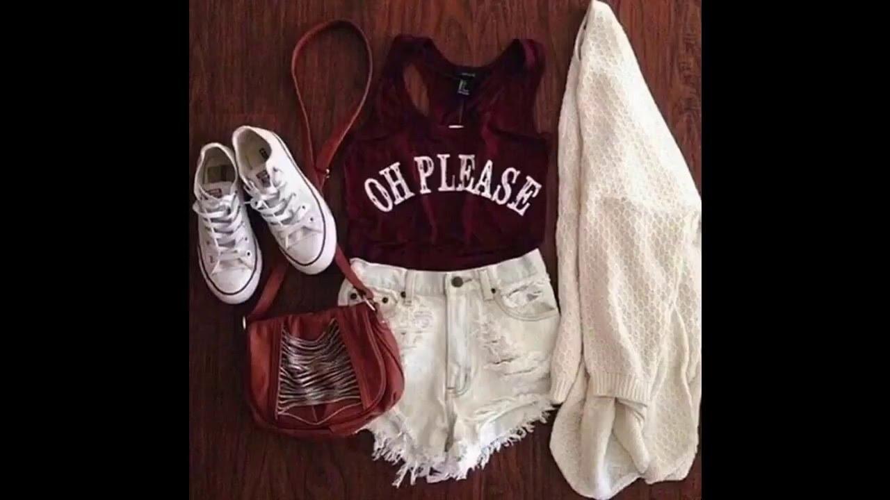 a2a1d8f3a8 Hipster outfits del verano para la escuela - YouTube