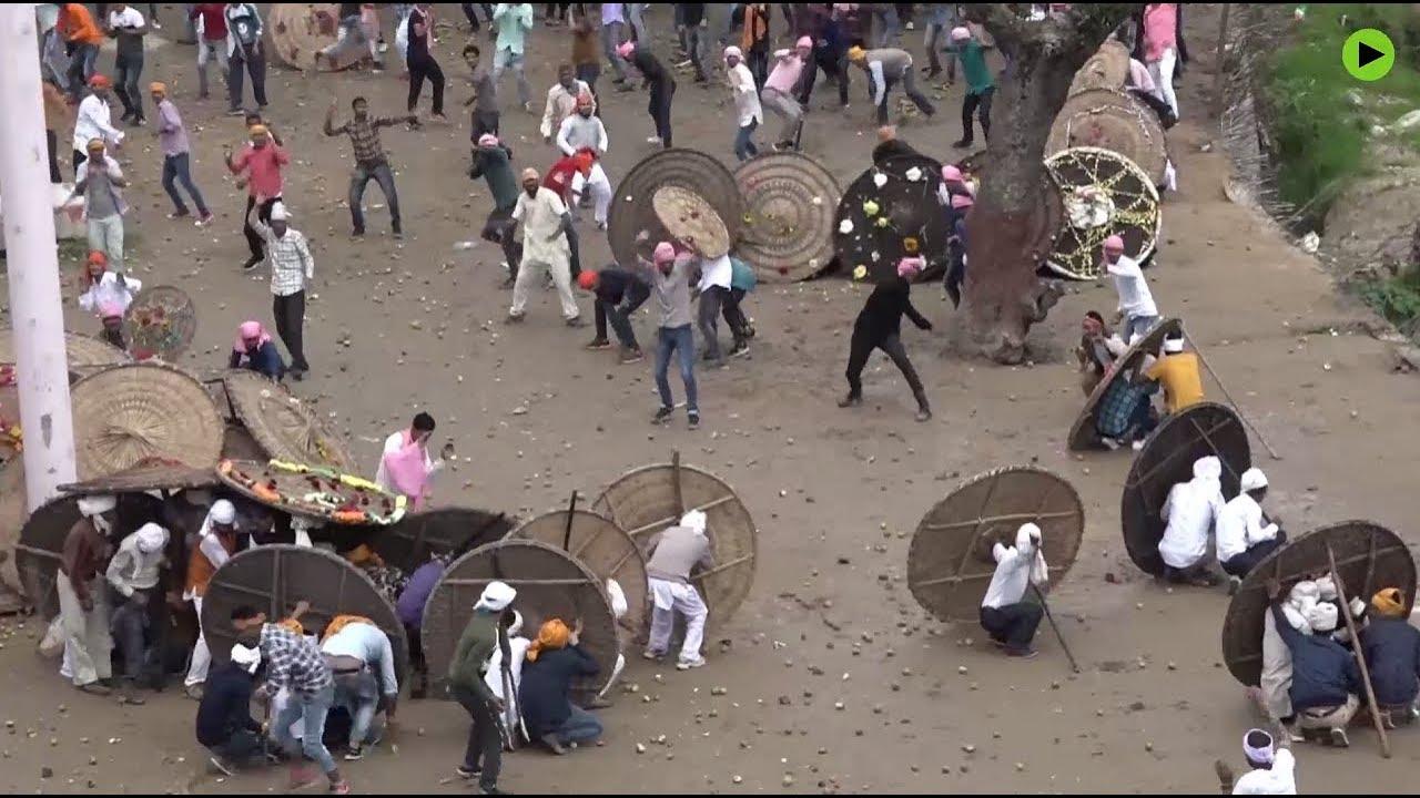 Slikovni rezultat za INDIAN STONE THROWING FESTIVAL