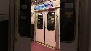 東京メトロ丸ノ内線 2000系104F ドア開閉