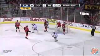 Dec 3 2011 Oilers vs. Flames Pre-Game