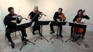 U2 With or Without You- ( 2 violins 1 viola 1 cello cover) Wellington Music