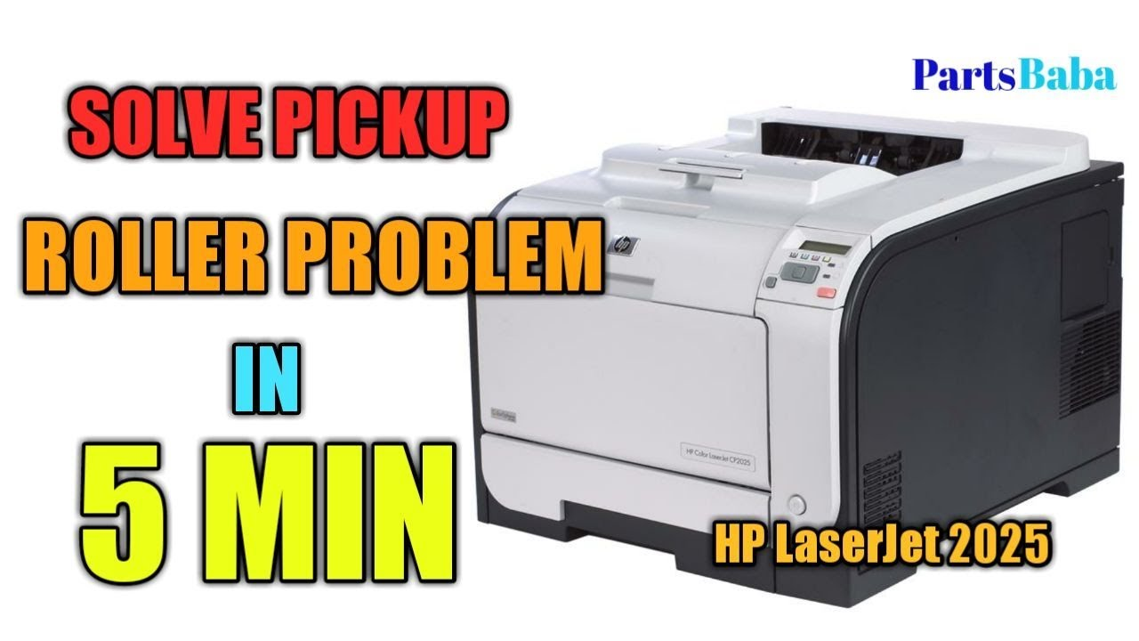 How to fix hp LaserJet CP2025 paper pickup problems | PartsBaba