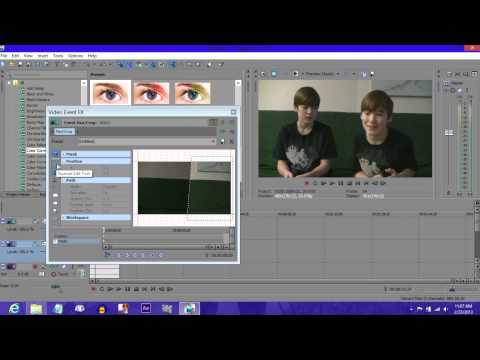 How to Clone yourself in Sony Vegas Pro 12