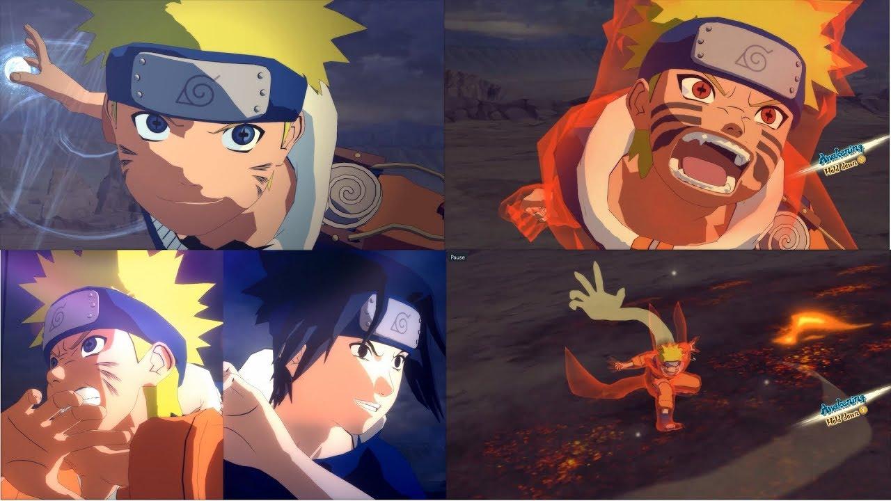 Naruto Shippuden Ultimate Ninja Storm 4 Moveset Mod Young Naruto Rikudo Unlock #1