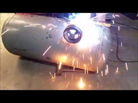 Welding On My Diy Air Compressor Tank Homemade Air