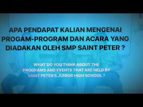 Saint Peter's Junior High School Interview 2