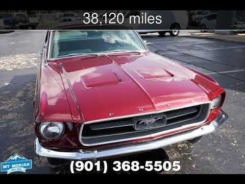 Mt Moriah Auto Sales >> 1967 Ford Mustang 2 Door Hardtop Used Cars Memphis Tennessee 2019 07 19