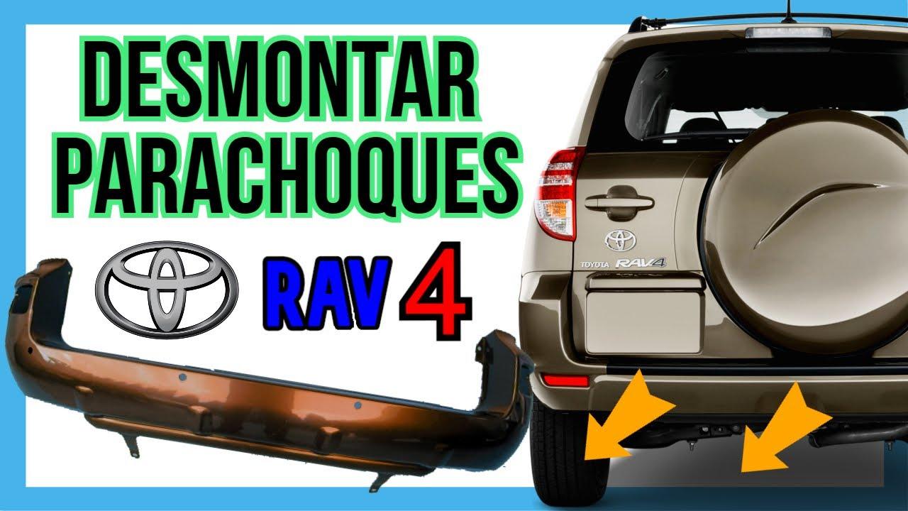 🔧DESMONTAR PARACHOQUES trasero RAV 4 | Tutorial COMPLETO🚙