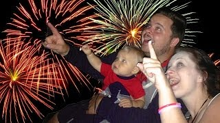 BABY REACTS TO FIREWORKS! (7.4.14 - Day 525) - Daily Bumps