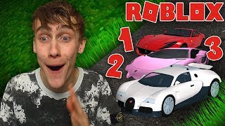 A SUPER CAR IN FRONT OF THE DOOR! Roblox
