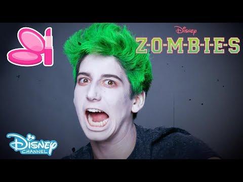Z-O-M-B-I-E-S   Zombie Make-up Tutorial 🎨   Official Disney Channel UK