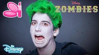 Z-O-M-B-I-E-S | Zombie Make-up Tutorial 🎨 | Official Disney Channel UK