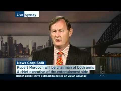 Analysis of News Corp split