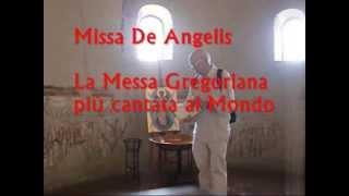 Gregoriano: KYRIE, SANCTUS, AGNUS DEI , Missa De Angelis, Giovanni Vianini, Milano, It.