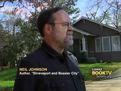 """LCV Cities Tour - Shreveport: Walking Tour with Neil Johnson """"Shreveport and Bossier City"""""""