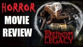 DEMON LEGACY ( 2014 ) aka SEE HOW THEY RUN Horror Movie Review