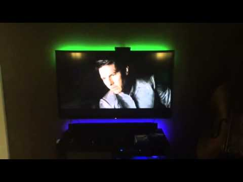 philips hue light strips youtube. Black Bedroom Furniture Sets. Home Design Ideas