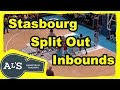 Strasbourg Split Out Basketball Baseline Inbounds Play
