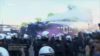 Was ein Mannheimer Polizist beim G20-Gipfel erlebt hat