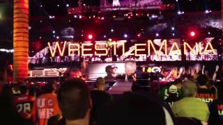 Wrestlemania 28 John Cena Live Entrance