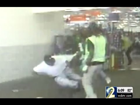 Video shows shooting of Walmart loss prevention officer