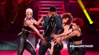 Usher live in london unstaged hd stream view (lil freak) 15