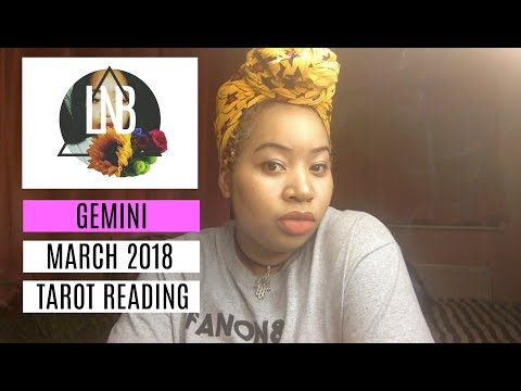 Gemini, He/She Haunts You. March 2018 Tarot Reading Uncut
