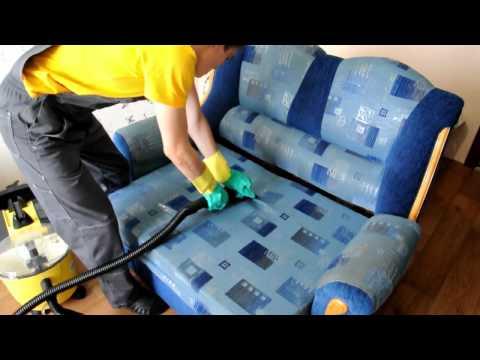 Как почистить диван в домашних условиях. Современный метод.