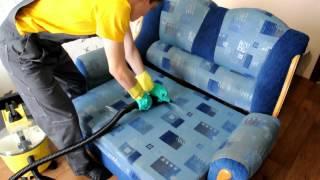 Как почистить диван в домашних условиях. Современный метод.(, 2012-06-26T01:55:36.000Z)
