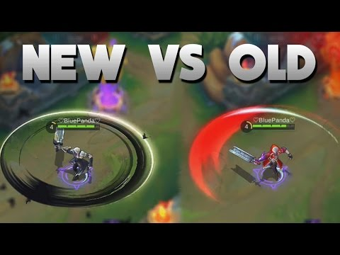 Mobile Legends NEW Alucard Skin vs OLD Skin (Skills) Child of the Fall