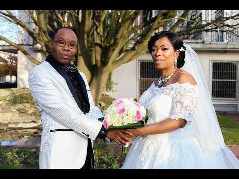 Mariage Glamour ( Congolese Wedding ) de Albertine & Nzuzi DIAVEWA au Blanc Mesnil