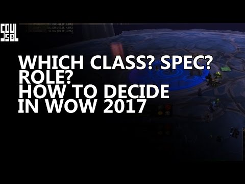 16 points to make when choosing a class/spec/role in WoW. Thoughts from a casual guild/raid leader.