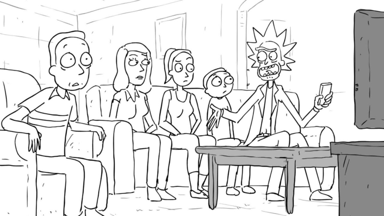 Rick And Morty Season 2 Nycc Animatic Rick And Morty