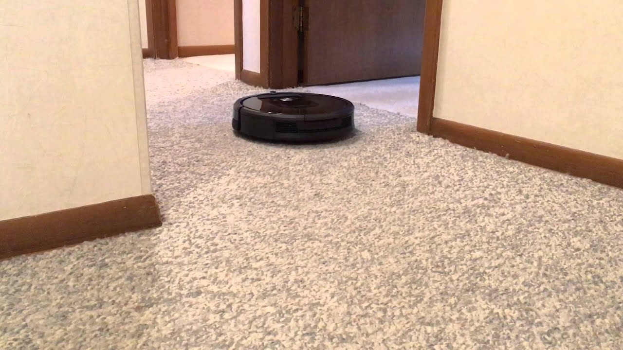 can a roomba go from hardwood to carpet  Floor Matttroy