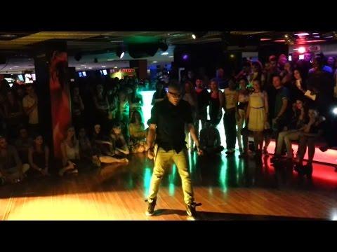 2013 - Kizomba / Break Dance - Albir Rojas Without Sara Lopez - Show (Bachaturo 2013)